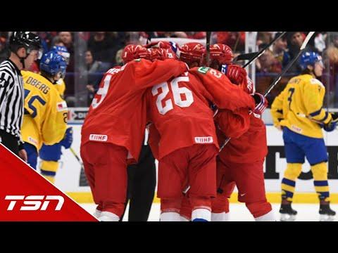 Russia 5, Sweden 4 (OT) FULL WORLD JUNIORS HIGHLIGHTS