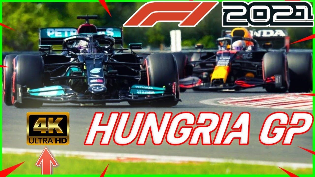 💧 CARRERA DE LOCOS HOY en F1 2021 Hungarian GP 4K 💧