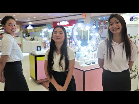A Walk Through The New S.M. Mall In San Fernando : The Philippines
