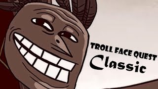 Troll Face Quest Classic - SPIL GAMES Level 1-14 Super Alternative Walkthrough