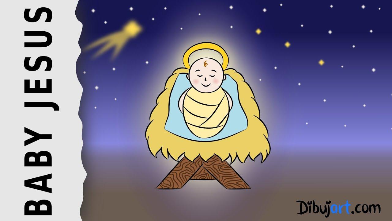 how to draw baby jesus u2014 wie zeichnet man das christkind youtube