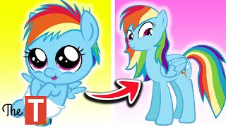10 My Little Pony Characters Growing Up