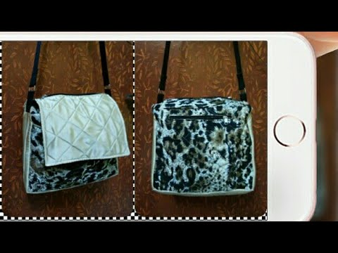 DIY : Girls Shoulder bag Tutorial By Anamika Mishra.....
