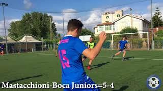 Xi sbordone league europa league quarti di finale mastacchioni-boca juniors