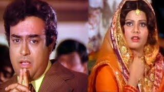 Sanjeev Kumar, Sulakshana Pandit, Uljhan - Scene 4/21