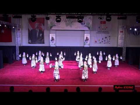 ÜNİVERSİTELER HALK OYUNLARI FİNAL (Stilize) YARIŞMA_GAZİANTEP 2014   Kastamonu Ünv (Kastamonu)