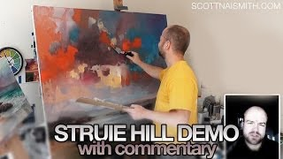 Large Oil Painting Struie Hill Dornoch Part