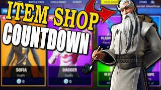 *NEW* Fortnite Item Shop COUNTDOWN August 29, 2019 NEW RARE SKINS?! (GIVEAWAY AT 5k SUBS)