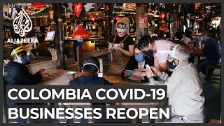 Colombia lifts restrictions as COVID-19 cases stabilise