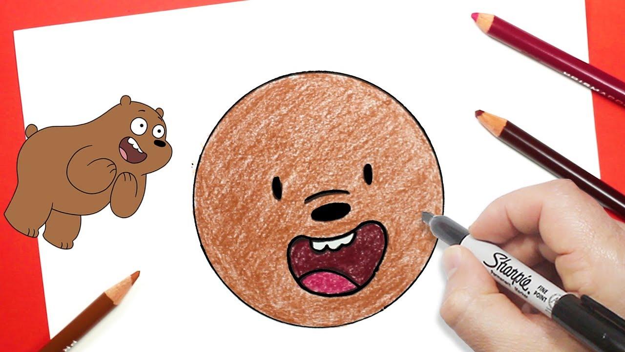 الدببة الثلاثة رسم ايموجي دب شهاب تعليم الرسم للاطفال Youtube