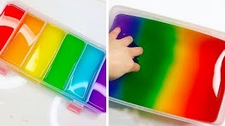 Coloring Slime Mixing - The Most Satisfying Slime Video #271