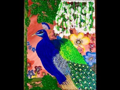 Part – II – Beginner's Basic Acrylic Painting Tutorial  #teresalaurente.com