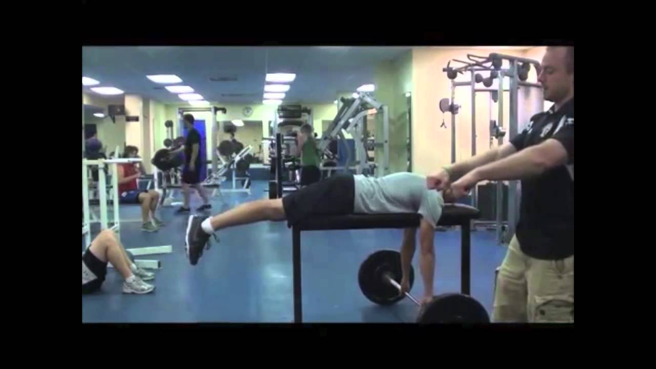 Barbell High Bench Row Viking Strength Systems Youtube
