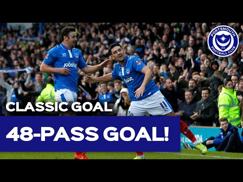 Is it Pompey or is it Barcelona? Gary Roberts' goal vs. AFC Bournemouth