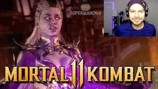 "OK, SINDEL! SINDEL GAMEPLAY REACTION - Mortal Kombat 11: ""Sindel"" Gameplay Trailer REACTION"