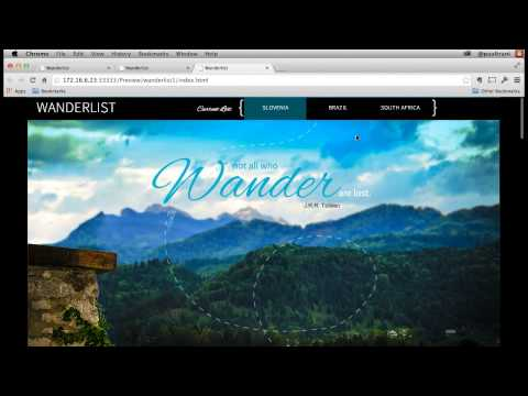 How to Create a One-Page Scrollable Site in Muse