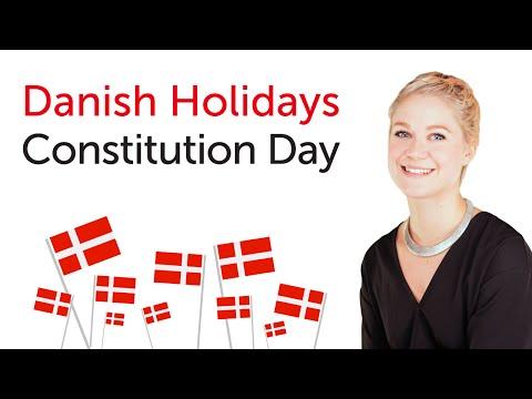 Danish Holidays - Constitution Day - Grundlovsdag