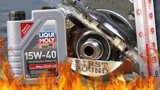Liqui moly MoS2 Leichtlauf 15W40 Jak skutecznie olej chroni silnik? 100°C