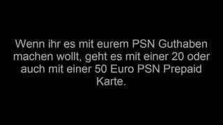 PS Plus/PSN Prepaid Codes KOSTENLOS verdoppeln!