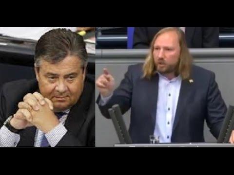 Anton Hofreiter beleidigt Sigmar Gabriel im Bundestag 08.07.2016