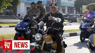Johor Ruler kicks off annual Kembara Mahkota Johor in Pontian