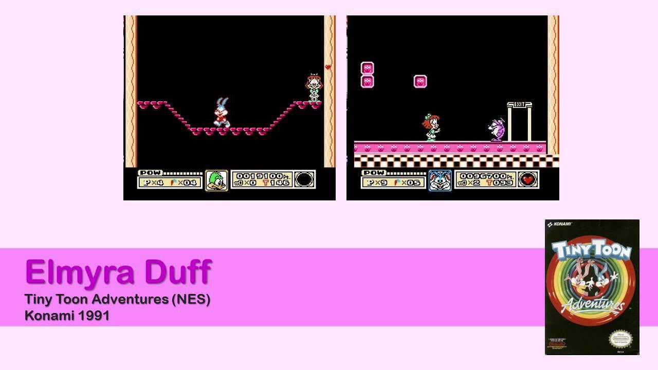 Animaniacs Elmyra Duff elmyra duff - tiny toon adventures (nes) [music extended 30min]