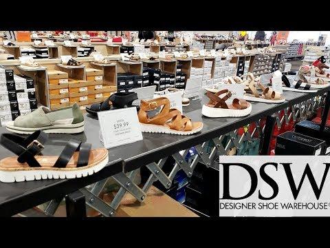 SHOE SHOPPING DSW  DESIGNER SHOE WAREHOUSE * SUMMER SANDAL TRENDS & HANDBAGS JUNE 2019