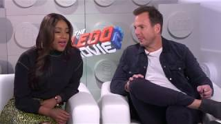 Tiffany Haddish & Will Arnett Interview - The Lego Movie 2: The Second Part