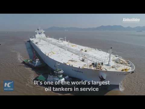 New record! 376,000 tons of crude oil unloaded at SE China port