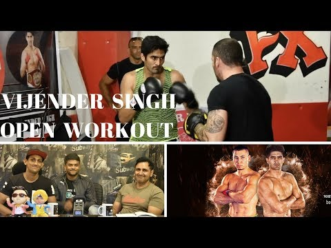 MMA INDIA SHOW Ep 62 : VIJENDER SINGH OPEN WORKOUT & INTERVIEW