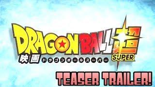 DRAGON BALL SUPER MOVIE FIRST OFFICIAL TEASER BREAKDOWN