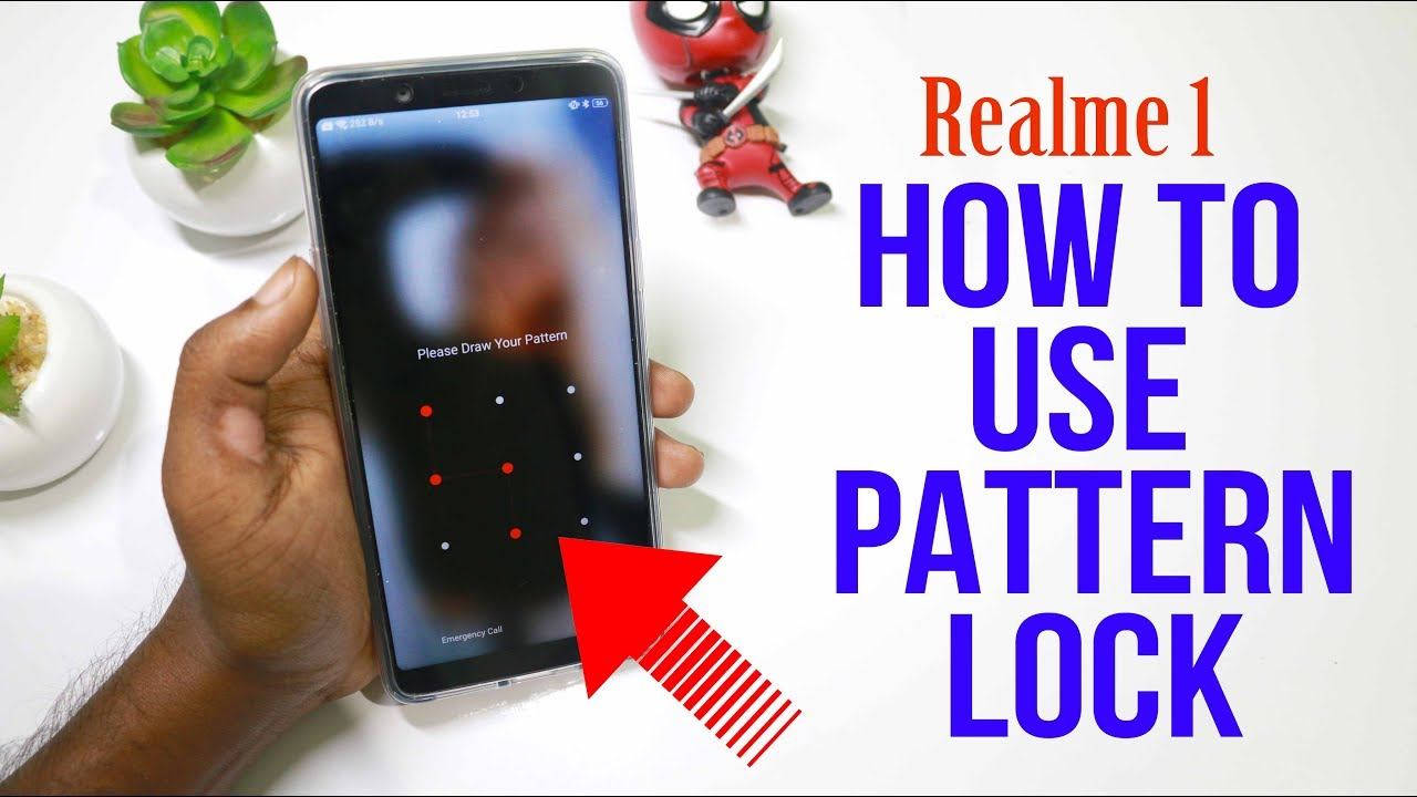 Realme 1 Pattern Lock How To Use Pattern Lock On Realme 1 In