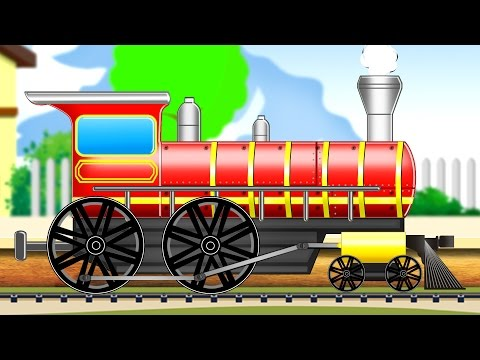 Train |  Formation And Uses | Kids Educational Video