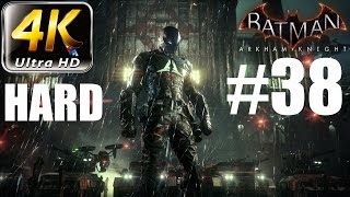 Batman: Arkham Knight - 4K HARD Walkthrough - Part 38 - The Toxin Has Spread