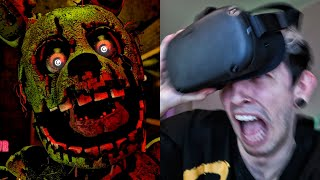 FNAF: HELP WANTED EN REALIDAD VIRTUAL 3 | Robleis