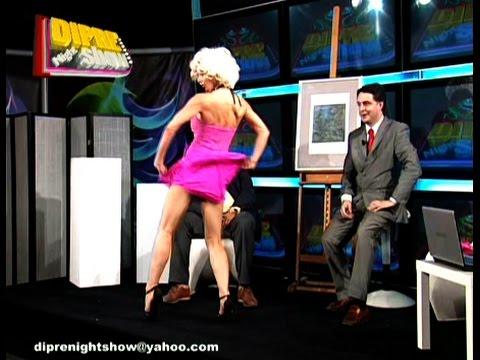 Diprè Night Show  Sexy Dj's Black and White Hard Burlesque