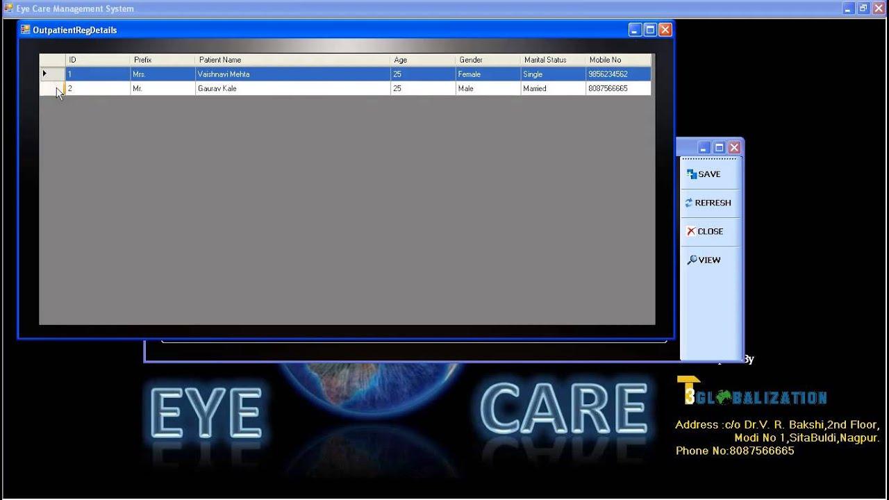 Eye Care Management System