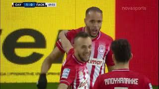 Oλυμπιακός - ΠΑΟΚ: 3-0 (27/1/2021)