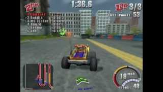 Smash Cars (PS2 Gameplay)