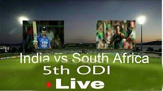 india vs south africa 5th ODI live streaming - mumbai