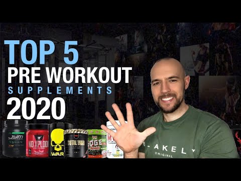 TOP 5 PRE WORKOUT SUPPLEMENTS 2020