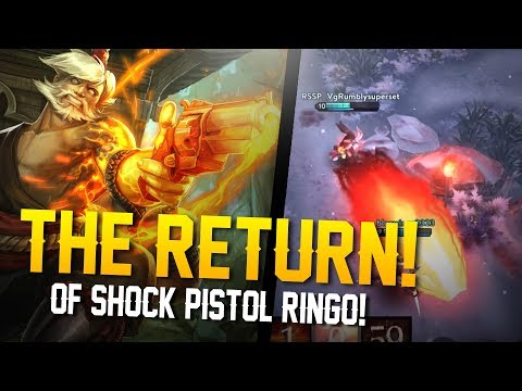 SHOCK PISTOL RINGO!! Vainglory - Breaking The Meta: Ringo Gameplay