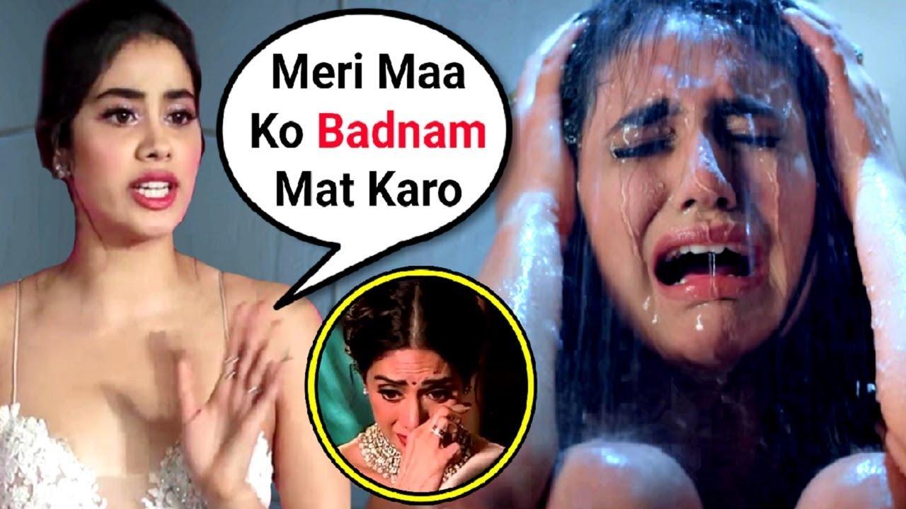 Jhanvi Kapoor Angry Reaction On Priya Prakash Varrier Sridevi Bungalow Trailer