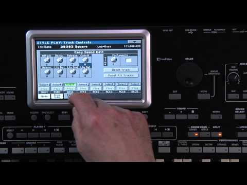 KORG Pa3X LE Video Manual - Part 6: SongBook