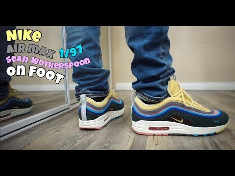 buy online e3560 71a05 Air Max 1/97 Sean Wotherspoon On Foot