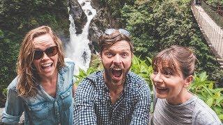 Banos - Flying High & Getting Wet (Ecuador Road Trip)