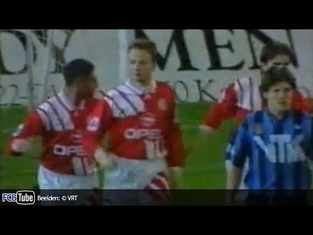 1993-1994 - Beker Van België - 02. 8ste Finale - Club Brugge - Standard 3-2