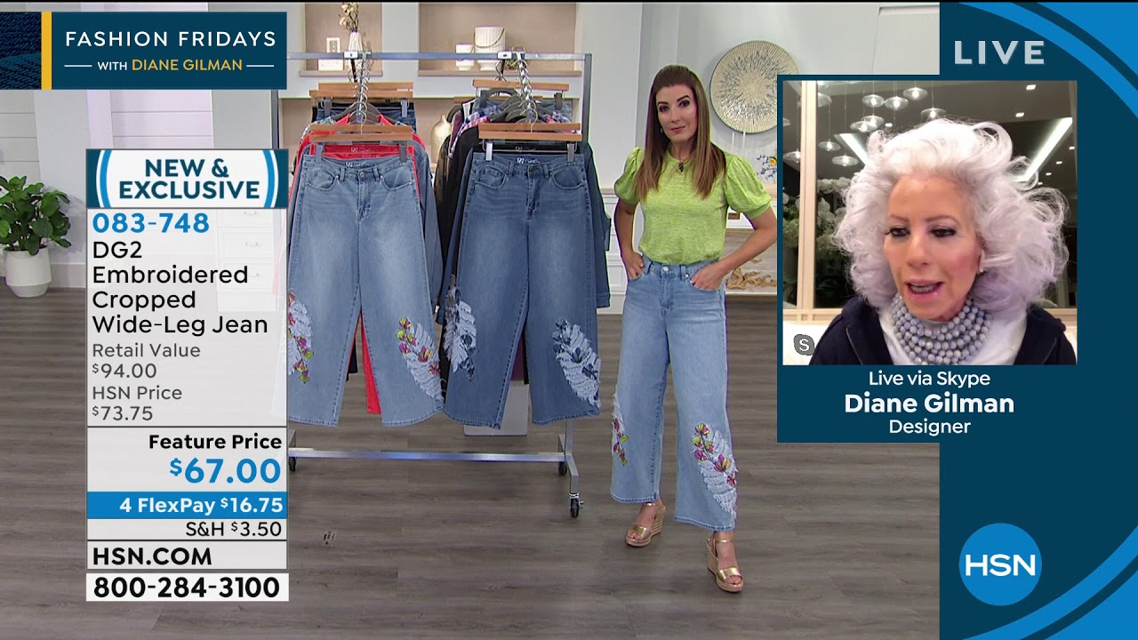 Hsn Fashion Fridays With Diane Gilman Anniversary Edition 05 01 2020 09 Pm Youtube