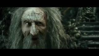 Гэндальф находит и освобождает Траина отца Торина. HD