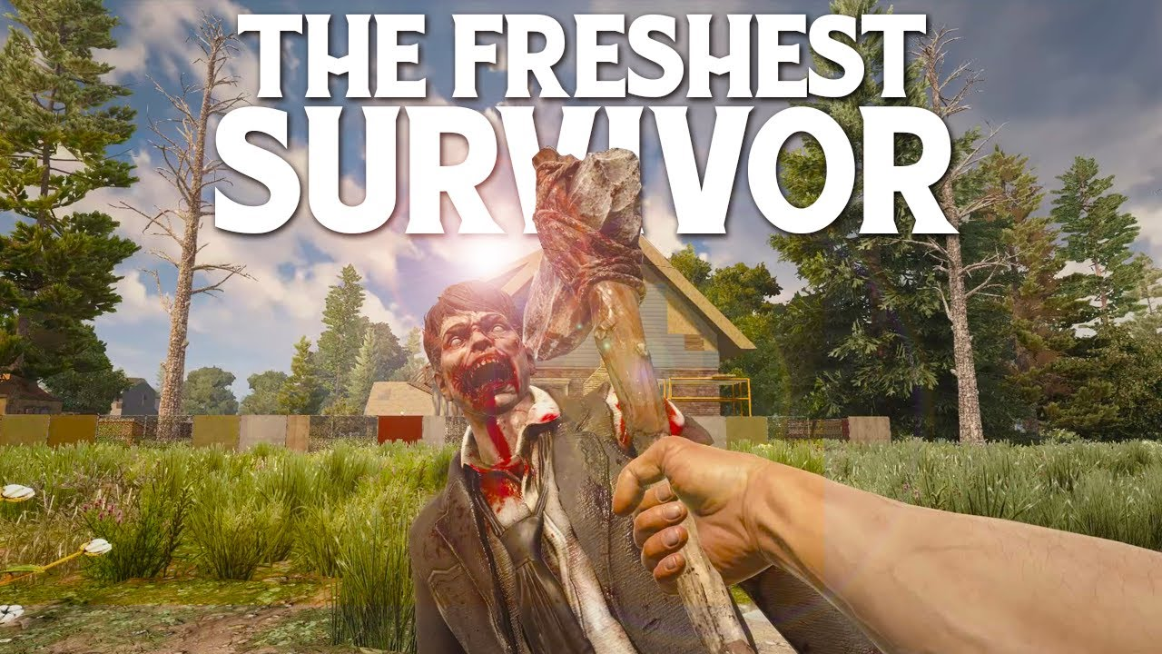 This SURVIVAL GAME Is Going To CONSUME ME - 7 Days To Die #1